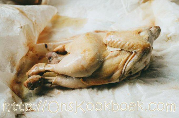 Ayam Garam of In Zout Gebakken Kip, recept uit Ipoh Maleisie