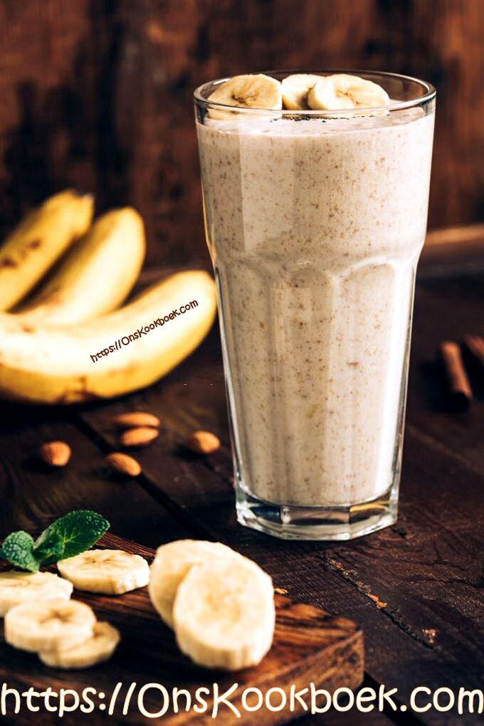 Bananenmilkshake Jeroen Meus