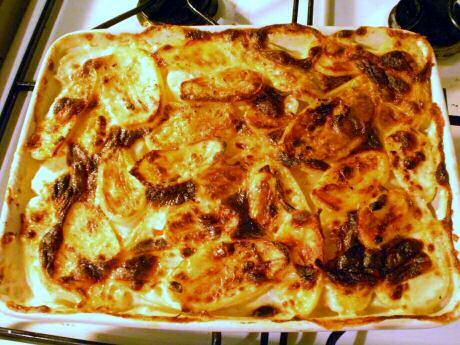 Gegratineerde aardappelen of gratin dauphinois