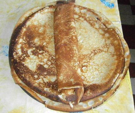 Supersnel recept van Jeroen Meus om lekkerr, dunne pannenkoeken te maken