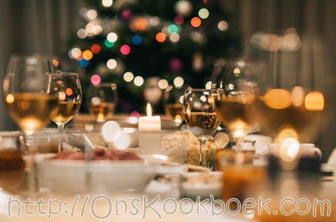 Kerstmenu