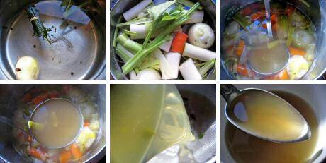 Stap voor stap recept om zelf groentebouillon te maken