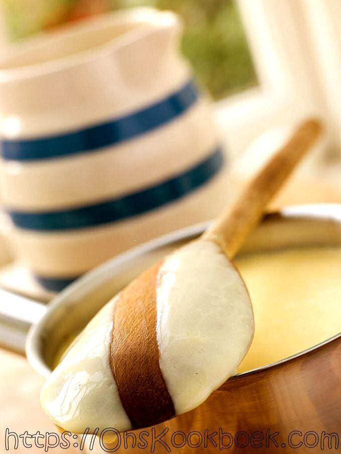 Pudding maken