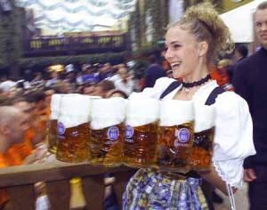 Oktoberfeest Munchen 18 Sept – 4 Okt