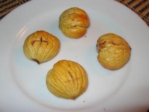 Recept Gepofte Tamme Kastanjes