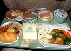 Vliegtuig Eten