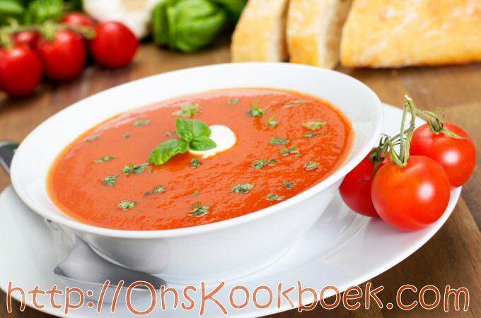 Tomatensoep maken