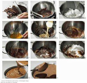 Chocolademousse recept