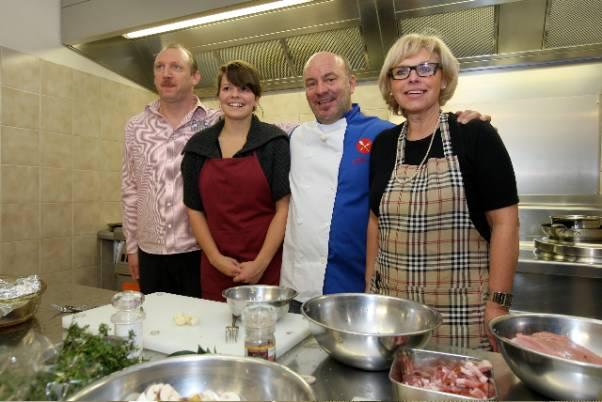 Koken met Piet Huysentruyt