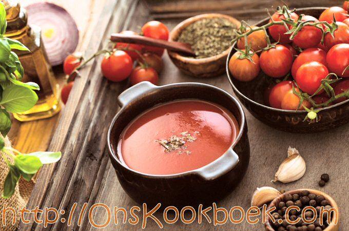 Hoe je lekkerste verse tomatensoep maken, TOP recept dat ieder kan maken!