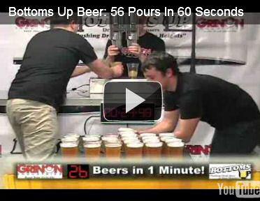 10 keer sneller bier tappen