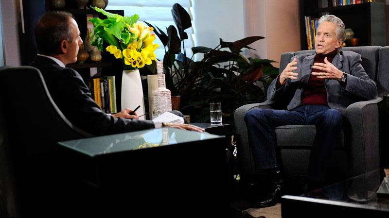Michael Douglas genezen van kanker