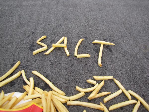 Fastfood ongezond: te zout voor kinderen
