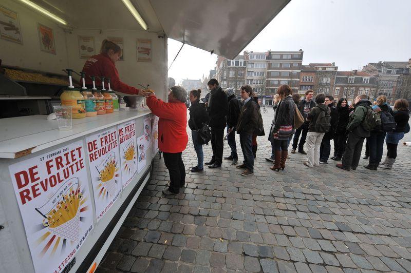 Heeft België teveel frietkoten?