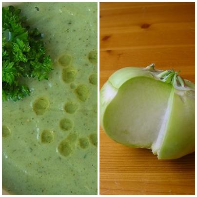 Koolrabi soep