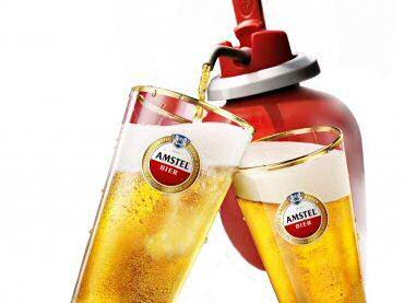 Amstel Bier introduceert het Tapje