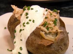 Gepofte Aardappel Oven