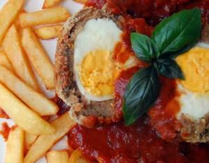 Jeroen Meus maakt vogelnestjes in de oven en serveert met snelle tomatensaus