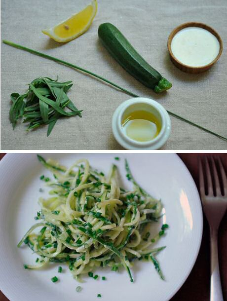 Courgettesalade