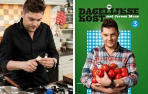 Het derde kookboek van Jeroen Meus: Dagelijkse Kost 3 boordevol lekkere en makkelijke recepten