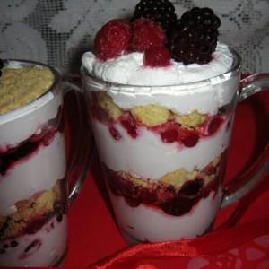 Lekker snel en makkelijk trifle of tiramisu recept met fruit van Jeroen Meus