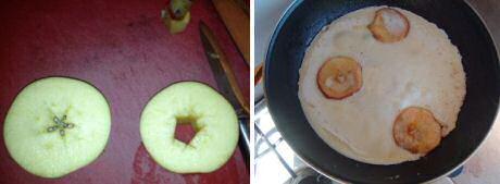 Pannenkoeken met appel