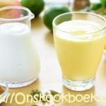 Makkelijk mango smoothie: zoet zonder suiker
