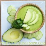 Koude komkommersoep