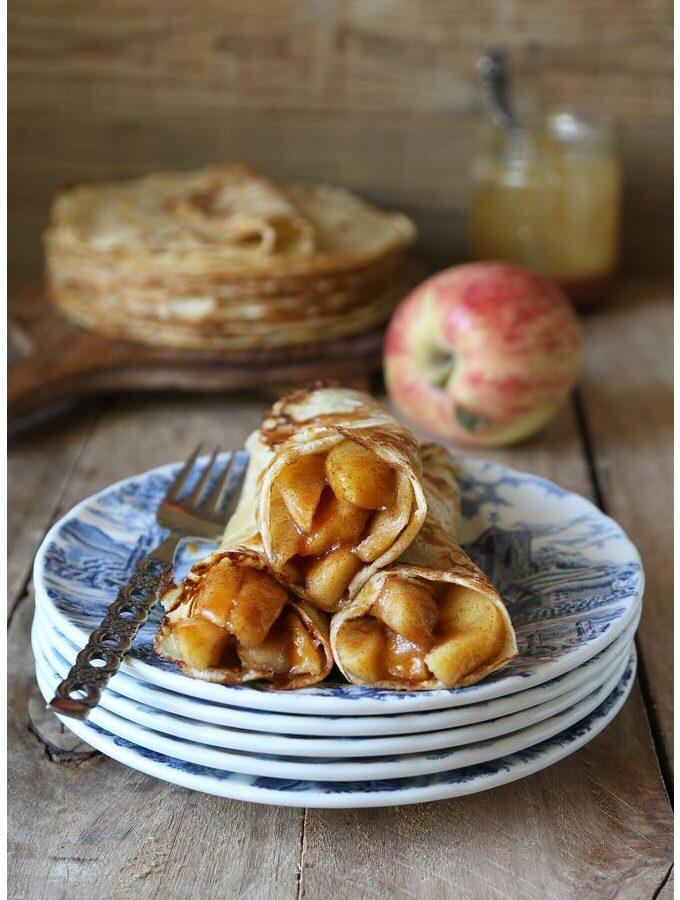 7 tips om perfecte pannenkoeken te maken … met appel … Hmmm, ruikt lekker!